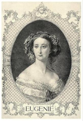 Супруга Наполеона III - императрица Евгения