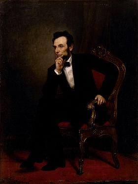 Авраам Линкольн - 16-й президент США