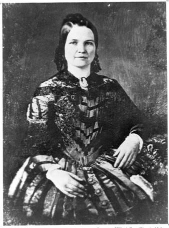 Супруга Авраама Линкольна - Мэри Тодд