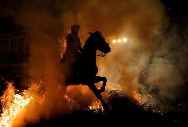 Фестиваль Las Luminarias. Фото: Pablo Blazquez Dominguez / Gettyimages.ru