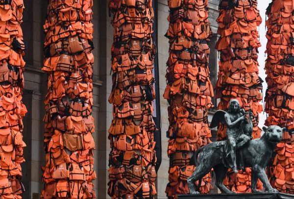 Колонны Концертного зала Берлина. Фото: Clemens Bilan / Gettyimages.ru