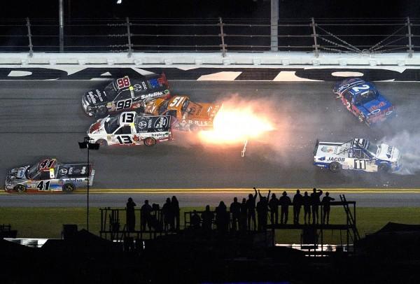 Гонки NASCAR, Дейтона-Бич, штат Флорида. Фото: Phelan M. Ebenhack/AP/EastNews